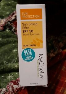 MyChelle Dermaceuticals - Sun Shield Clear Stick 50 SPF (0.5 Oz.) Non-Tinted
