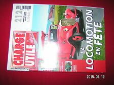 ¤¤ Charge Utile n°212 Haulotte Cirque & Boner Car Girard Berliet GBH Unimog