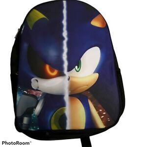 Sonic The Hedgehog Backpack Anime Cartoon Schoolbag Shoulder Bag FREE SHIPPING