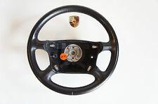 Porsche 993 996 Volante vierspeichenlenkrad Cuero Negro Volante deportivo LR30