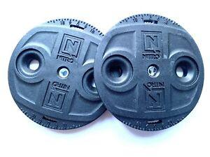 Nitro Snowboard Bindings - Channel System EST Mini Discs Set - Replacement Parts