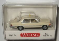 Wiking 014924 MB 300 SD (W116) 1978 Taxi 1:87 Spur HO
