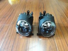 1Pair Front Fog Spot Light / Lamps + Bulbs For Mitsubishi Lancer CJ 2007.9-12