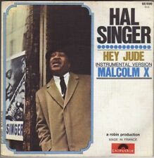 """HAL SINGER MALCOLM X FRENCH 45 PS 7"""""""