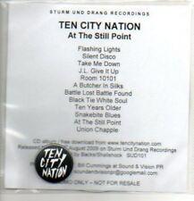 (587J) Ten City Nation, At The Still Point - DJ CD