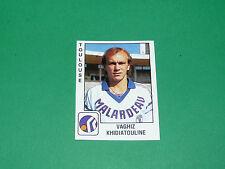PANINI FOOTBALL FOOT 90 N°347 KHIDIATOULINE TOULOUSE FC Téfécé STADIUM 1989-1990
