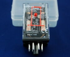 ONE  NEW PLUG IN RELAY 8PIN 2P FITS MK-2PNS 110V AC COIL