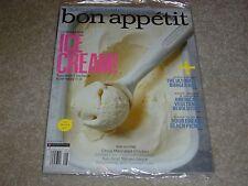 ICE CREAM * THE ULTIMATE BURGER BAR August 2013 BON APPETIT MAGAZINE NEW