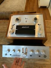 Beautiful Vintage Ampligraph Reel To Reel Player Reco W/ Tube Amplifier RARE