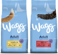 Dog food  WAGG COMPLETE ADULT - CHICKEN & VEG, BEEF & VEG (2.5KG, 12KG)..