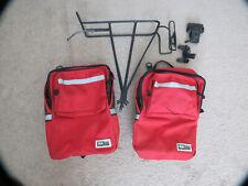 Older Blackburn Rear Bicycle Bike Rack W/hbar Panniers 4Touring +Bottle Holder++
