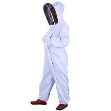 New Professional Beekeeping Beekeeper Full Body Suit Smock Pest Control Veil XXL