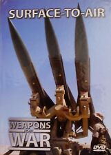 WEAPONS OF WAR - Surface To Air DVD + BOOK WORLD WAR TWO WWII BRAND NEW R0