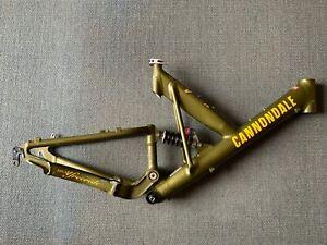 Cannondale Super V 3000 Freeride 1998 Size M - Vintage Retro Bicycle Frame