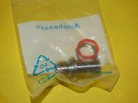 New Amphenol 082-66-RFX Bulkhead Adapter N Jack N Jack