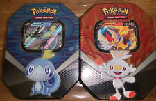 2 X Pokemon Large Collector Tin.new Sealed As In Picture