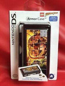 "Nintendo DS Lite ""Lego Indiana Jones"" Black Armor Case by Power A - Brand New"