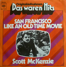 "7"" 60s! Scott McKenzie San Francisco + like an old time Movie"