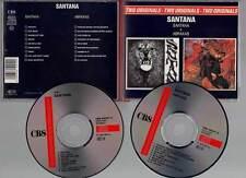 "CARLOS SANTANA ""Santana + Abraxas"" (2 CD) 1989"
