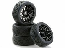 Carson 500900538C - 1:10 Sc-Räder Lm Style Schwarz (4) - Neu