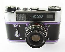 FED 5 Russian Leica Copy Camera  Industar-61LD Lens EXC #073829