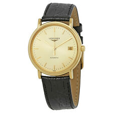 Longines Presence Automatic Gold Dial Ladies Watch L48212322