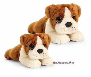 ~❤️~BULLDOG lead 30cms medium 32cms large 37cms soft Toy BULL DOG Korimco~❤️~