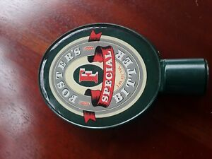 Rare oval Beer Tap, Mens Gift idea