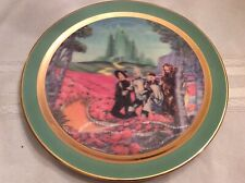 """Wizard of Oz 3-D plate-""""Step into the Emerald City�-1994"""