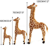 Plush Giraffe Kid Toy Giant Large Stuffed Animal Doll Xmas Gift 60/70/120CM