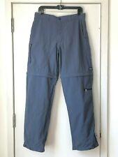 Patagonia Men's Convertible Outdoor Pants Shorts Size 33 Navy