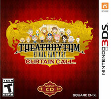 Theatrhythm Final Fantasy: Curtain Call Limited Edition 3DS New Nintendo 3DS, ni