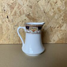 Vintage Royal Osborne China Hand Painted Blue & Gold Milk Jug - 11.5cm