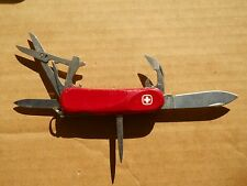 Wenger EVO 16 Swiss Army knife in red - retired