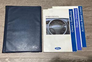 FORD FIESTA OWNERS MANUAL HANDBOOK & FOLDER WALLET BOOK PACK SET Mk4 1995-2002
