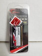 G.SKILL Ripjaws Laptop Memory 8GB DDR3 SO-DIMM DDR3 1600_F3-1600C11S-8GRSL_New
