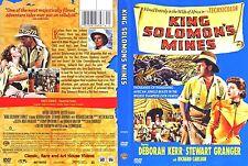 King Solomon's Mines ~ New DVD ~ Deborah Kerr, Stewart Granger (1950)
