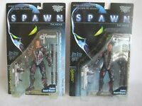 Spawn & Spiked Spawn - Ultra Action Figure with Combat Assault Weapons 1997