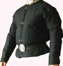 Medieval Celtic Viking Armor Padded Gambeson Long Sleeve with Collar Father Gift