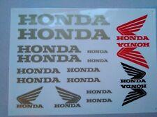 Honda Aufkleber Gold Honda stickers Gold