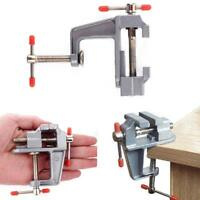 "3.5"" Aluminum Small Jewelers Hobby Clamp On Table Bench Vise Mini Tool Vice Kit"