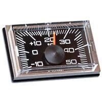 Historisches RICHTER Auto KFZ Bimetall Thermometer mit Magnethalter HR Art. 1208
