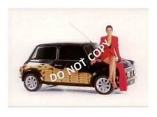Mini Cooper Classic Postcard - Italian Job theme - Natasha Caine Mini Design