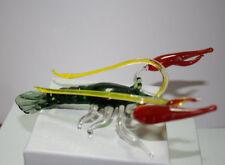 Art Blown Glass Murano Figurine Glass Lobster Figurine