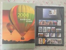 Collection of 2008 Australian Post YearBook Album with MUH Stamps - Deluxe