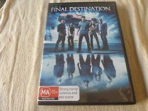 The Final Destination (2D & 3D DVD, 2010) Region 4 Nick Zano, Krista Allen