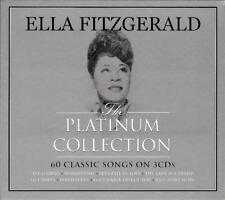 ELLA FITZGERALD - THE PLATINUM COLLECTION - 60 CLASSIC SONGS (NEW SEALED 3CD)