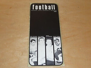 1966 MONTANA STATE COLLEGE FOOTBALL MEDIA GUIDE EX-MINT  BOX 19