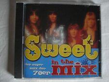 2 CD THE SWEET: IN THE MIX+GREATEST HITS + AUFKLEBER SLADE T.REX SUZI QUATRO MUD