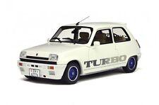 Ot691 renault 5 Gordini turbo blanco, OVP Otto Mobile 1:18 entrega inmediata!